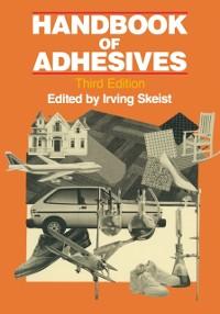 Cover Handbook of Adhesives