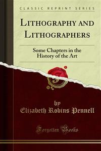 Cover Lithography and Lithographers