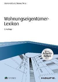 Cover Wohnungseigentümer-Lexikon - inkl. Arbeitshilfen online
