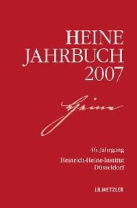 Cover Heine-Jahrbuch 2007