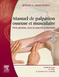 Cover Manuel de palpation osseuse et musculaire