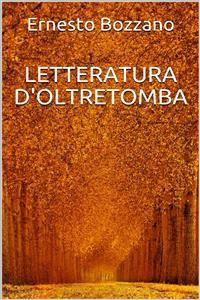 Cover Letteratura d'oltretomba