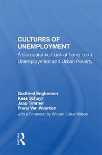 Cover Cultures Of Unemployment