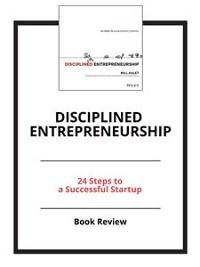 Cover Disciplined Entrepreneurship