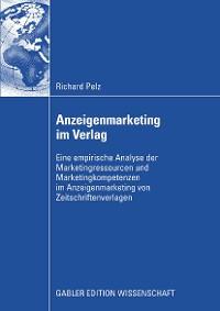 Cover Anzeigenmarketing im Verlag