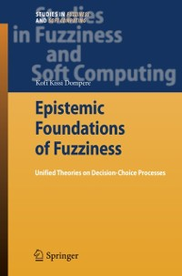Cover Epistemic Foundations of Fuzziness