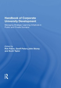 Cover Handbook of Corporate University Development