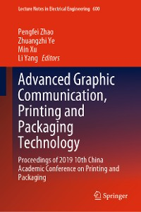 Cover Advanced Graphic Communication, Printing and Packaging Technology