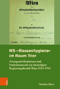 "Cover NS-""Rassenhygiene"" im Raum Trier"