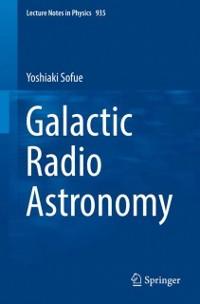 Cover Galactic Radio Astronomy