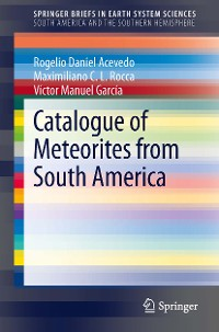 Cover Catalogue of Meteorites from South America