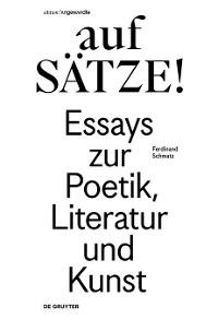 Cover aufSÄTZE!
