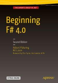 Cover Beginning F# 4.0