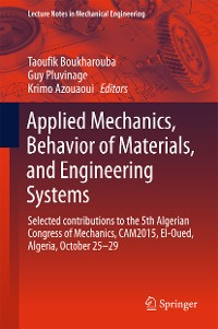 Cover Applied Mechanics, Behavior of Materials, and Engineering Systems