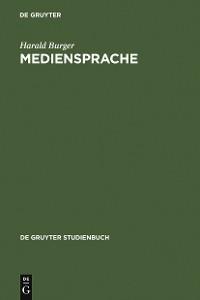 Cover Mediensprache