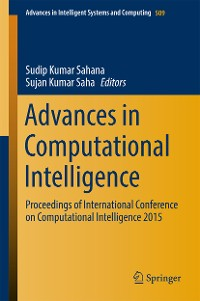 Cover Advances in Computational Intelligence