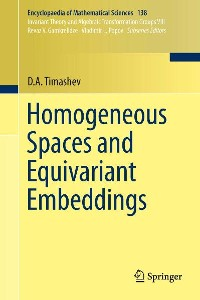 Cover Homogeneous Spaces and Equivariant Embeddings