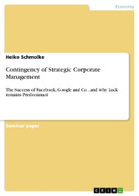 Cover Contingency of Strategic Corporate Management