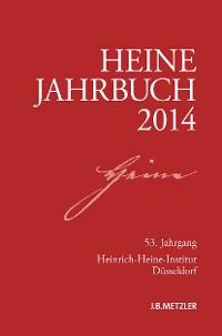 Cover Heine-Jahrbuch 2014
