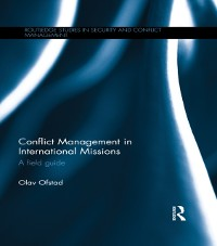 Cover Conflict Management in International Missions