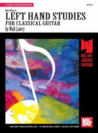Cover Left Hand Studies For Classical Guitar