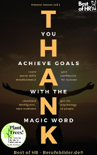 Cover Thank you. Achieve Goals with the Magic Word