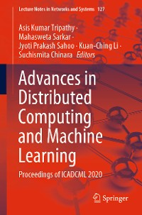 Cover Advances in Distributed Computing and Machine Learning