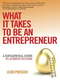 Cover What It Takes To Be An Entrepreneur