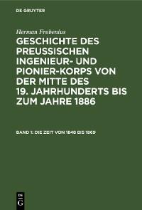 Cover Die Zeit von 1848 bis 1869