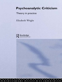 Cover Psychoanalytic Criticism