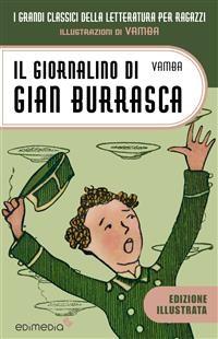 Cover Il giornalino di Gian Burrasca illustrato da Vamba