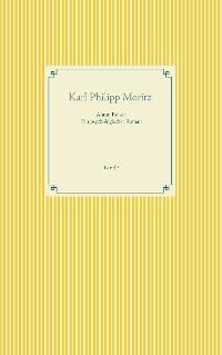 Cover Anton Reiser - ein psychologischer Roman