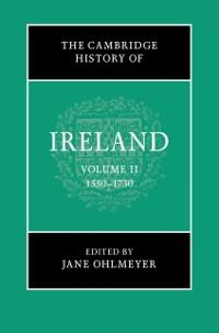 Cover Cambridge History of Ireland: Volume 2, 1550-1730