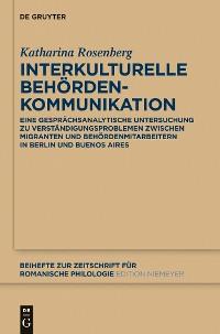 Cover Interkulturelle Behördenkommunikation