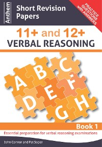 Cover Anthem Short Revision Papers 11+ and 12+ Verbal Reasoning Book 1