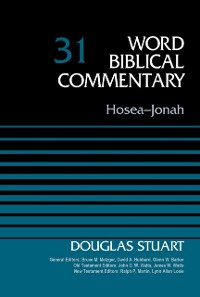 Cover Hosea-Jonah, Volume 31