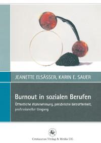 Cover Burnout in sozialen Berufen