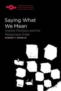 Cover Saying What We Mean