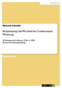 Cover Bestimmung und Wechsel der Funktionalen Währung
