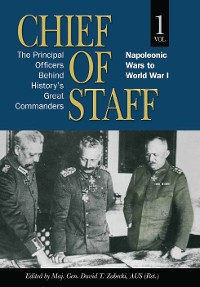 Cover Chief of Staff, Vol. 1
