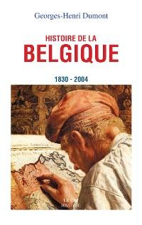 Cover Histoire de la Belgique