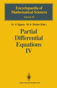 Cover Partial Differential Equations IV