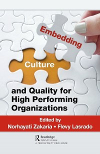 Cover Embedding Culture and Quality for High Performing Organizations