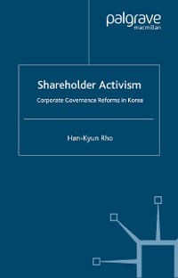 Cover Shareholder Activism