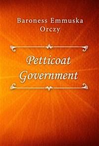 Cover Petticoat Government