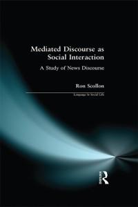 Cover Mediated Discourse as Social Interaction