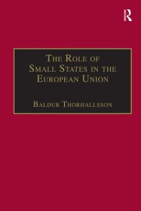 Cover Role of Small States in the European Union