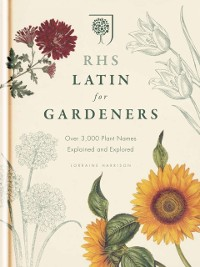 Cover RHS Latin for Gardeners