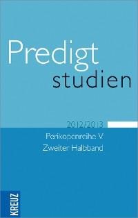 Cover Predigtstudien V/2