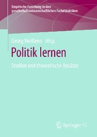 Cover Politik lernen